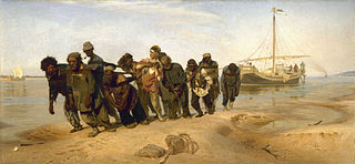 Volgan lautturit (Ilja Repin)