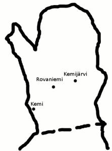 Pohjois-Suomi ja kolme kaupunkia muistinvaraisesti