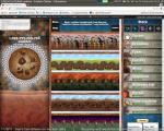 Cookie Clicker (Chromiumin Incognito-ikkunassa, kuvakaappaus; n. biljoona keksiä luotu, Cps n. 195 miljoonaa)