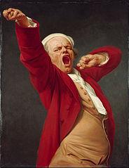 Haukotteleva omakuva, Joseph Ducreux