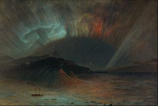"""Aurora Borealis"", tehnyt Frederic Edwin Church"