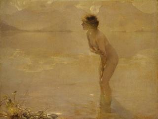 Paul Chabas: September Morn (n. 1912)