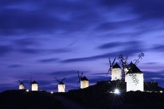 Tuulimyllyjä (Consuegran, Espanja)